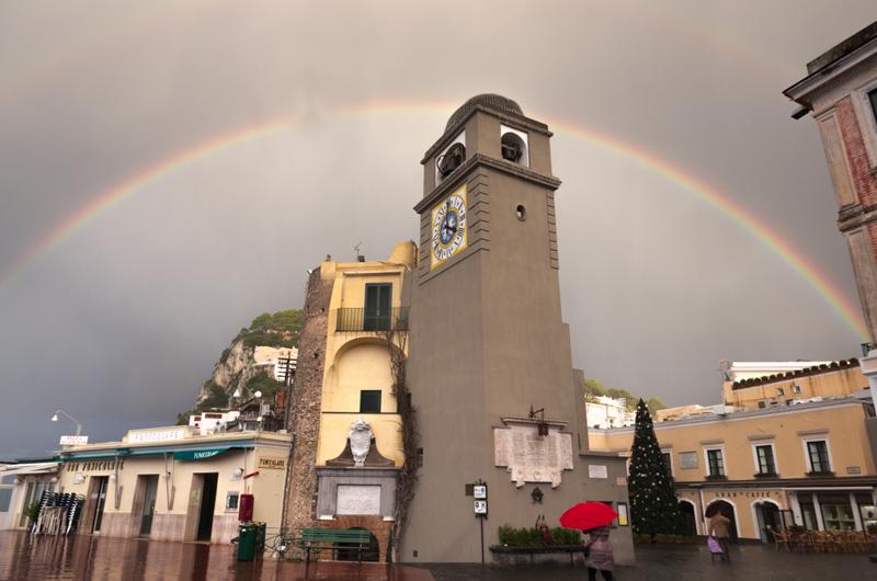 Cosa fare a Capri se piove? Amala ancora di più