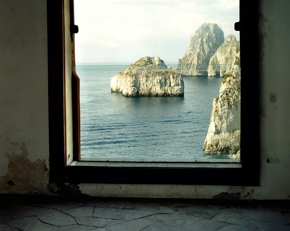 Villa Malaparte finestra