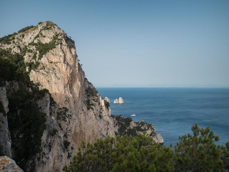Albe e tramonti di Capri, belvedere Migliera