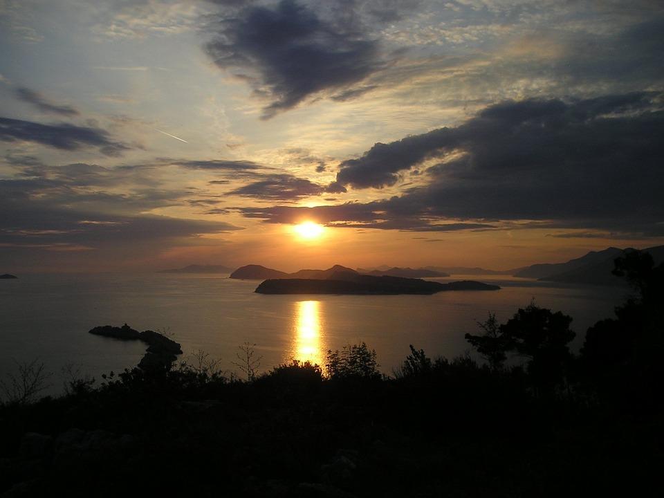 Tramonto in Croazia