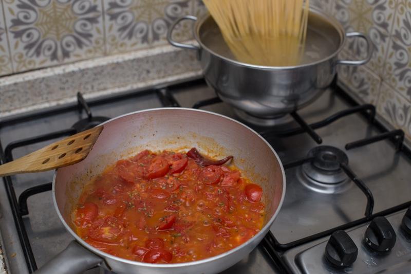 chiummenzana pasta