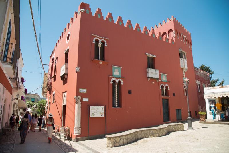 La Casa Rossa ad Anacapri: tesoro da scoprire