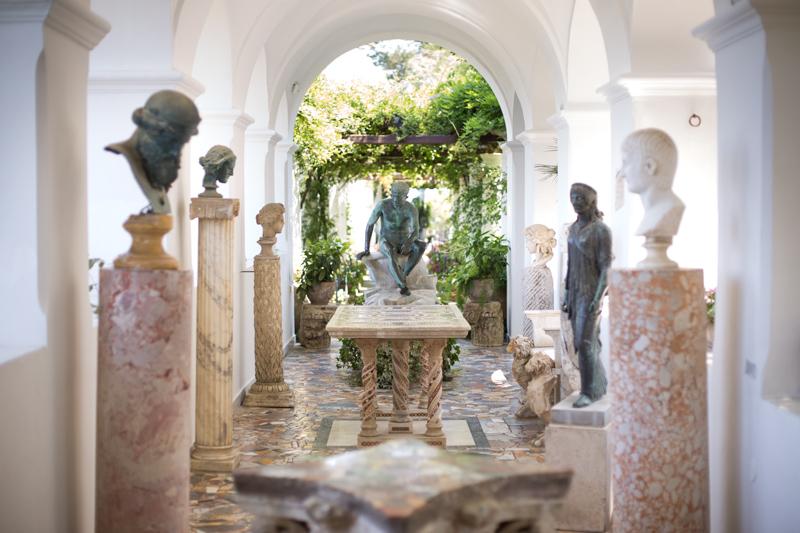 Esterni villa san Michele Anacapri
