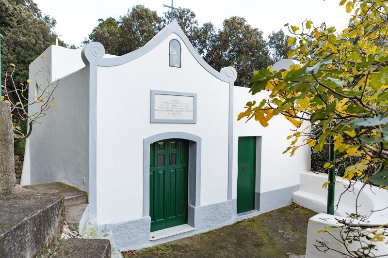 Cappella di Santo Antonio, vicino Scala Fenicia a Capri