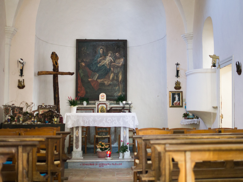 Navata chiesa di Santa Maria di Costantinopoli ad Anacapri