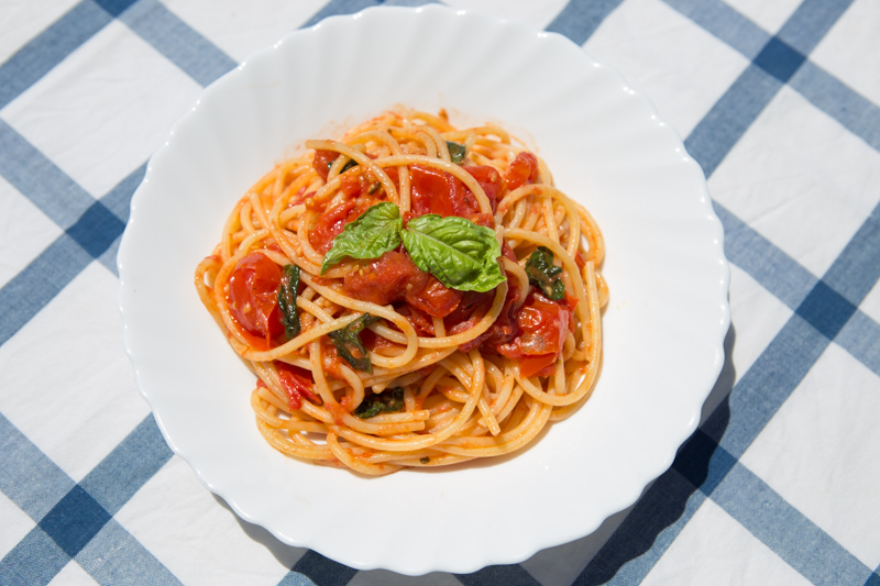Altre 4 ricette di Capri: spaghetti alla Chiummenzana