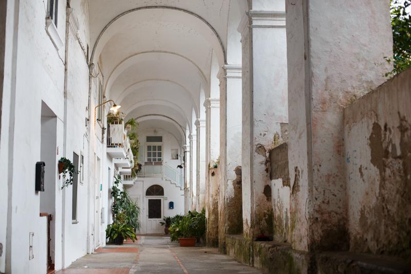 colonnato santa teresa