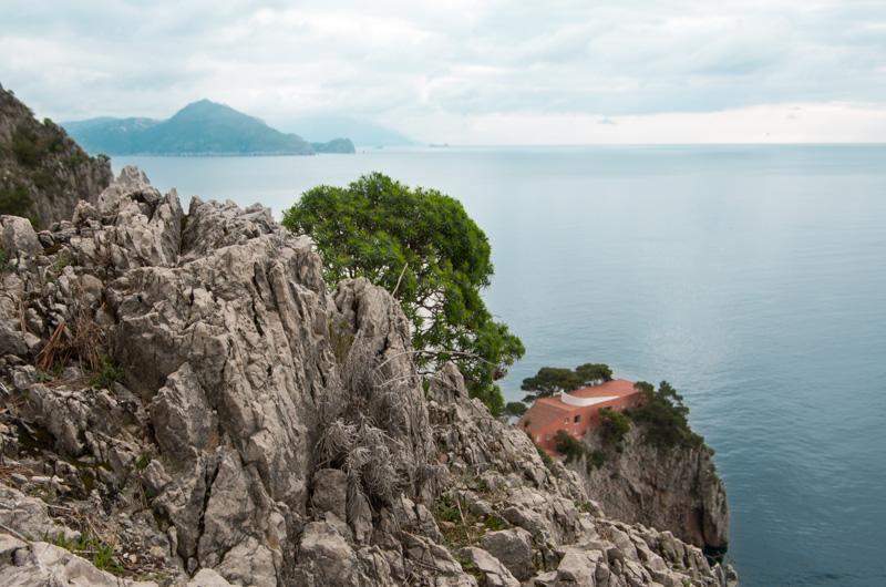 Pizzolungo Capri Villa Malaparte