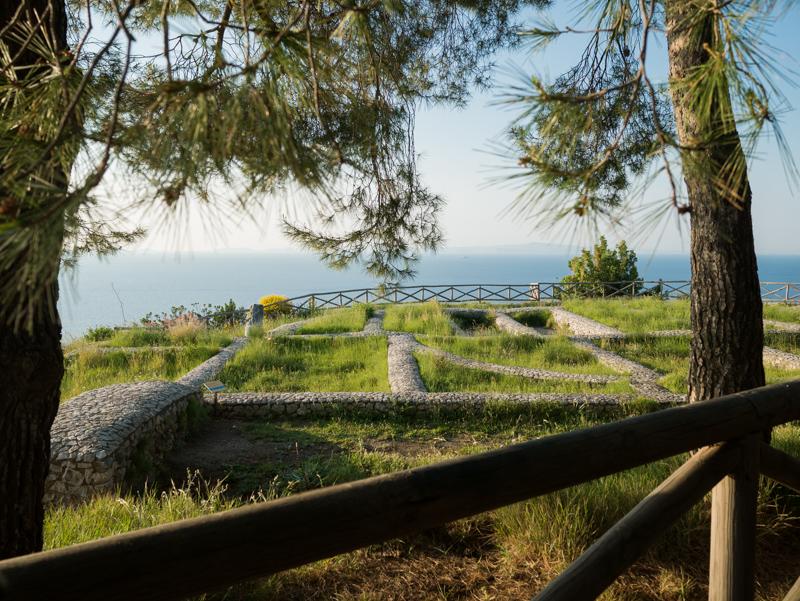 Scavi Villa Damecuta Anacapri