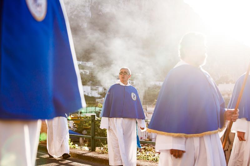 La festa di San Costanzo a Capri processione