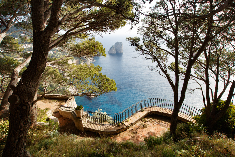 Vacanze a Capri, passeggiata a Punta Cannone