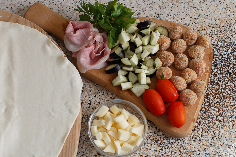 Pizza Monacone ingredienti