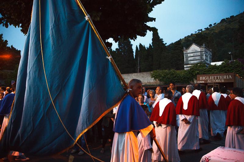 Momenti durante la processione di Sant'Antonio ad Anacapri