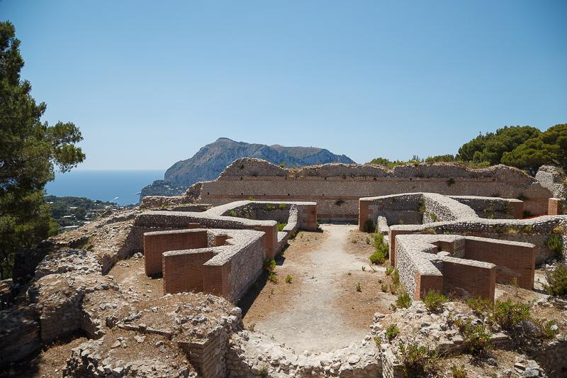 Le più belle ville di Capri: Villa Jovis