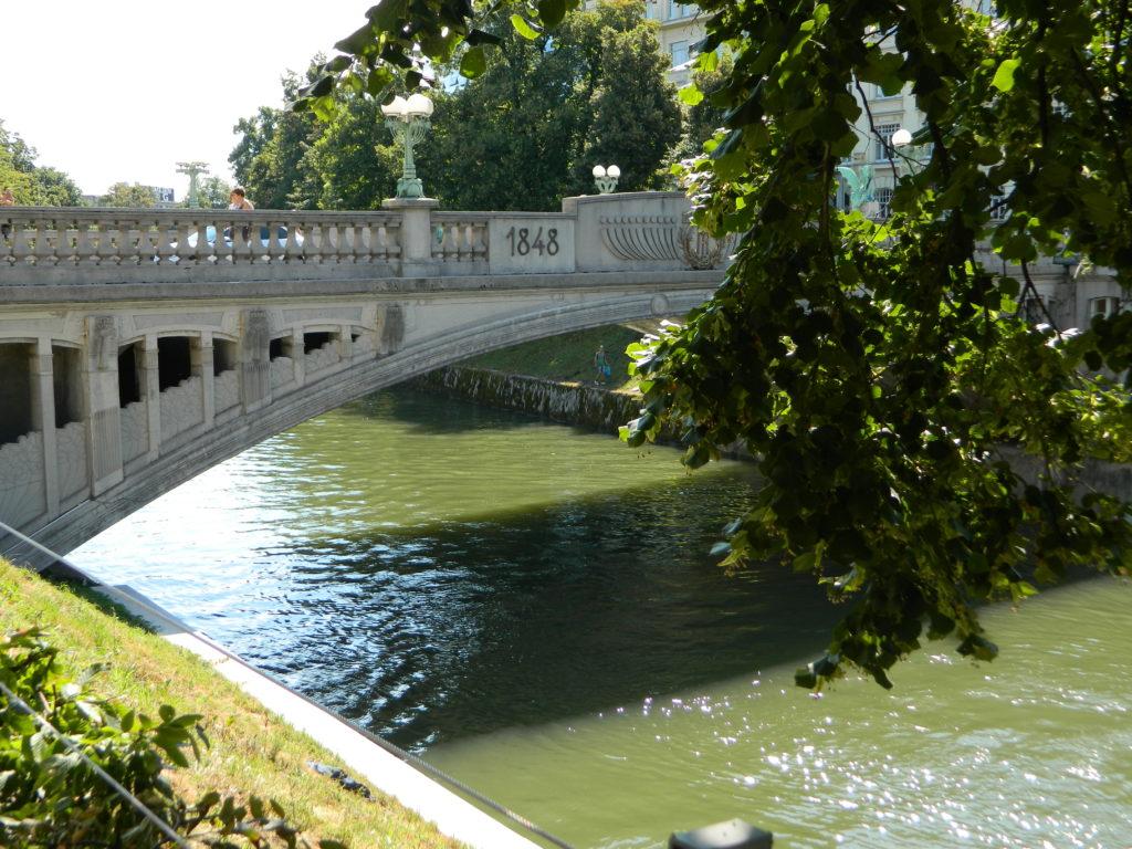 Visitare Lubiana Ponte dei draghi
