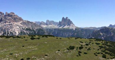Tre cime dal Monte Specie Val Pusteria