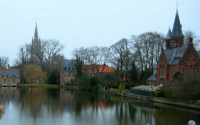 Cosa vedere a Bruges Minnewater