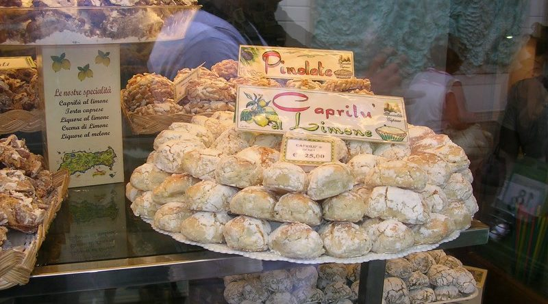 I caprilù biscotti alle mandorle e al limone