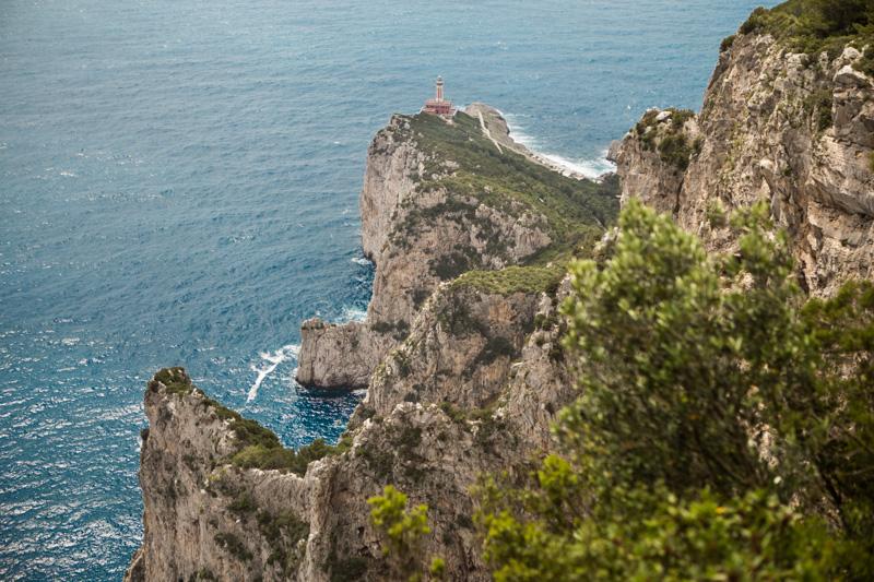 Passeggiate a Capri in inverno, Belvedere della Migliera