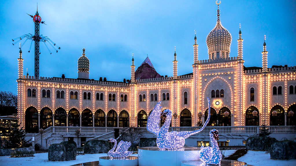 Tivoli Gardens a Copenaghen