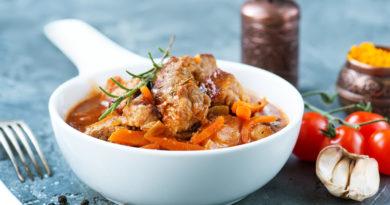 gustosissimo piatto sardo molto saporito e colorato