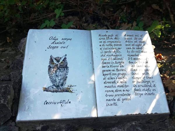 Il sentiero dei Fortini di Anacapri e le maioliche informative