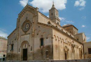 La Cattedrale di Matera, facciata esterna