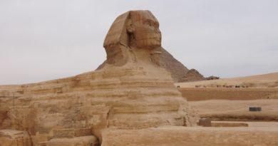 La sfinge in Egitto
