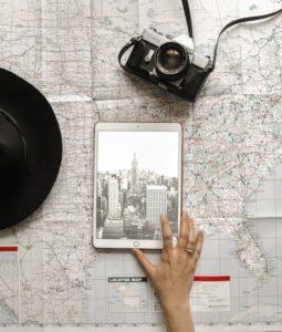 organizzare un viaggio: mappe e tour