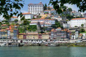 Quartiere di Ribeira a Porto