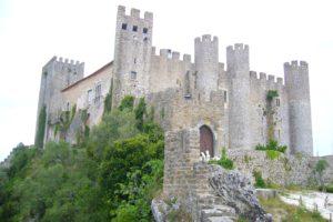 Castello medievale di Obidos in Portogallo