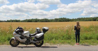 Viaggio in moto in montragna