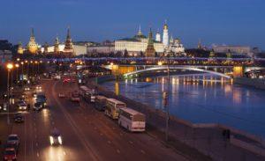 Vista sulla zona del Cremlino
