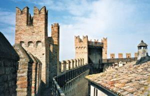 Torri del castello di Gradara