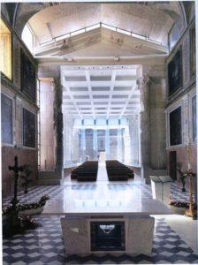 Interni della Cattedrale di San Procolo. Fonte wikipedia