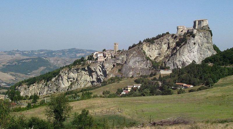 Rocca sulla quale sorge il borgo di San Leo