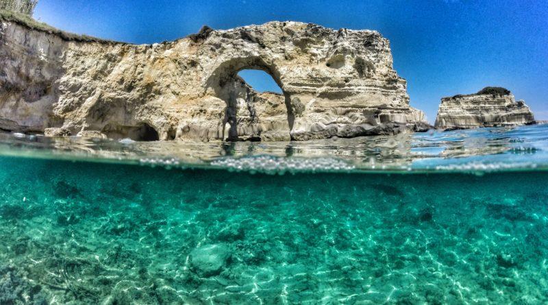 Sotto il mare del Salento