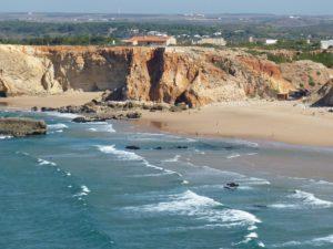 Spiaggia nella regione di Algarve