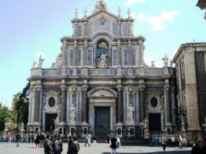 Facciata esterna della Chiesa di Sant'Agata