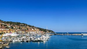 Paesaggio del porto di Porto Santo Stefano