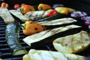 Verdure grigliate per prepare la pasta con le verdure