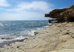 Piccola particolare della spiaggia di Agios Theologos