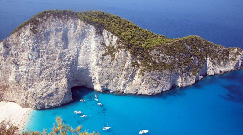 La spiaggia più famosa di Zante: la spiaggia del relitto