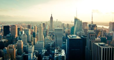 Vista su New York