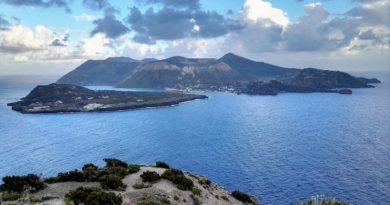 Panorama dell'arcipelago delle Eolie
