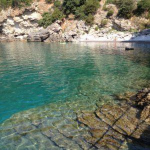 Mare limpido del Cilento nei pressi di Acciaroli