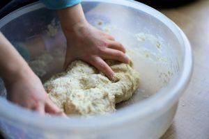 Impasto per pane fatto in casa