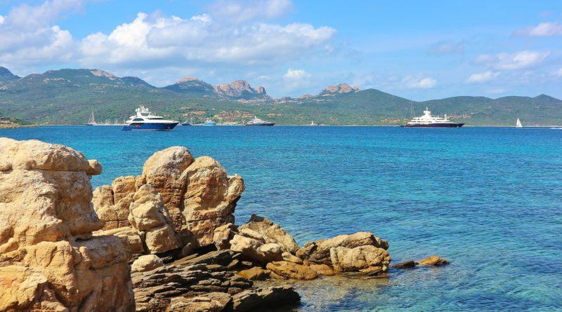Spiaggia della Costa Smeralda in Sardegna