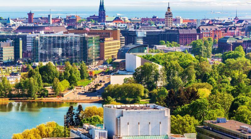 Helsinki si trova in Finlandia