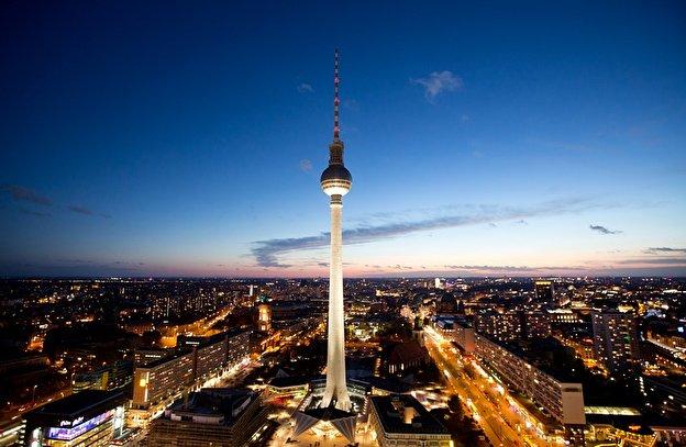 Torre della televisione a Berlino